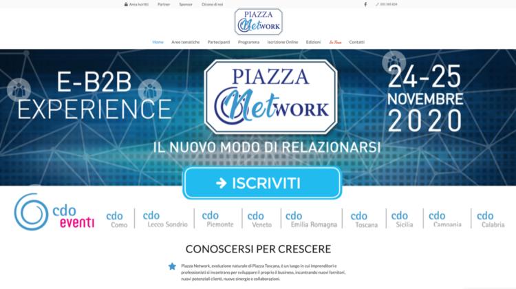 Piazza Network evento nazionale CDO